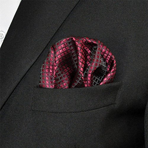Shlax & Wing Extra Lang Größe Hochzeit Mehrfarbig Einfarbig Color Rot Crimson Herren Krawatte Seide - 7