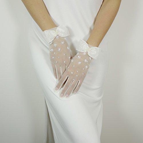 Shmily Elegante Brauthandschuhe neu SS0002