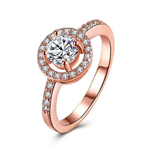 Beydodo Damen Ring vergoldet