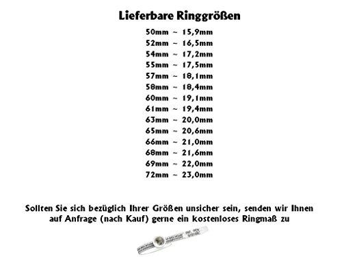 Eheringe Verlobungsringe Trauringe aus Titan mit 0,02ct. Diamant und Laser Gravur TB017 - 3