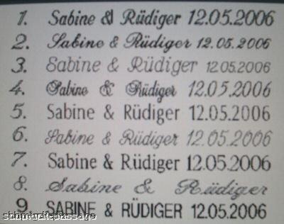 2 Eheringe Trauringe Verlobungsringe aus Edelstahl & Titan mit 3 Zirkonia im Damenring & gratis Gravur - 5