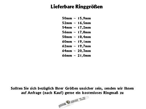 Titanringe Verlobungsringe Eheringe Trauringe Hochzeitsringe aus Titan mit 925 Silber und Topas Gravur TS633 - 2