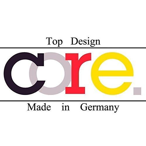 CORE by Schumann Design Trauringe/Eheringe aus 925 Silber/Platiniert mit echten Diamanten GRATIS Testringservice & Gravur 19016626 - 2