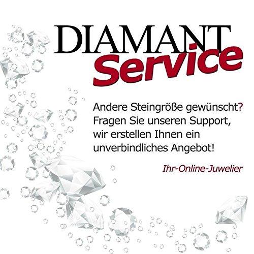 CORE by Schumann Design Trauringe/Eheringe aus 925 Silber/Platiniert mit echten Diamanten GRATIS Testringservice & Gravur 19016626 - 4