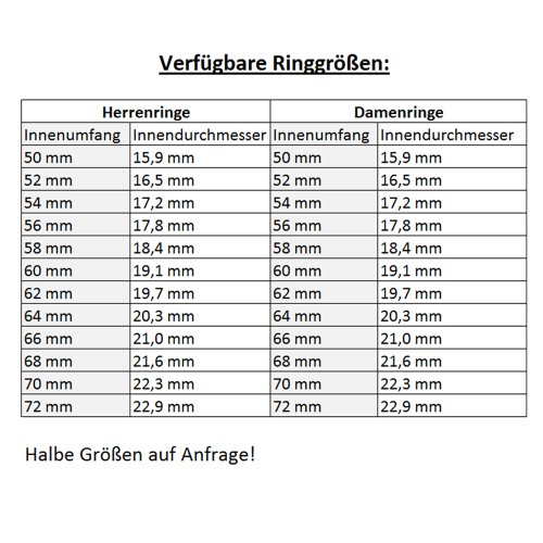 CORE by Schumann Design Trauringe/Eheringe aus 925 Silber/Platiniert mit echten Diamanten GRATIS Testringservice & Gravur 19016626 - 5