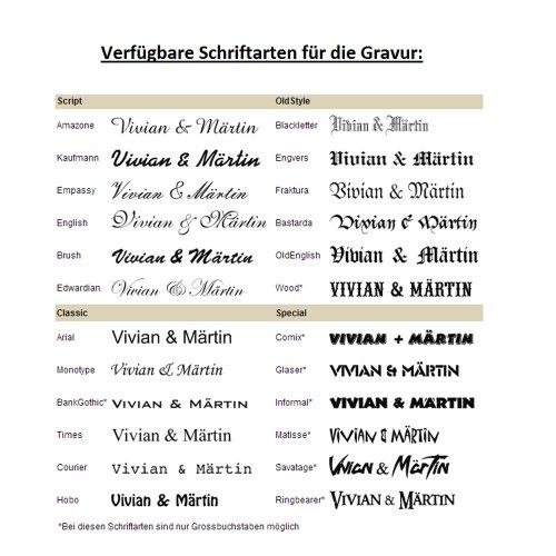 CORE by Schumann Design Trauringe/Eheringe aus 925 Silber/Platiniert mit echten Diamanten GRATIS Testringservice & Gravur 19016626 - 6