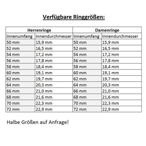 CORE by Schumann Design Trauringe Eheringe aus Titan/Titanium mit echten Diamanten inkl. Gravur ST049.02 - 5