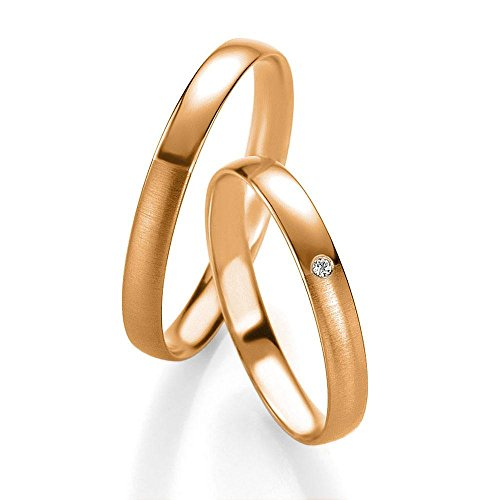 CORE Design Eheringe aus 333 Gold Rotgold