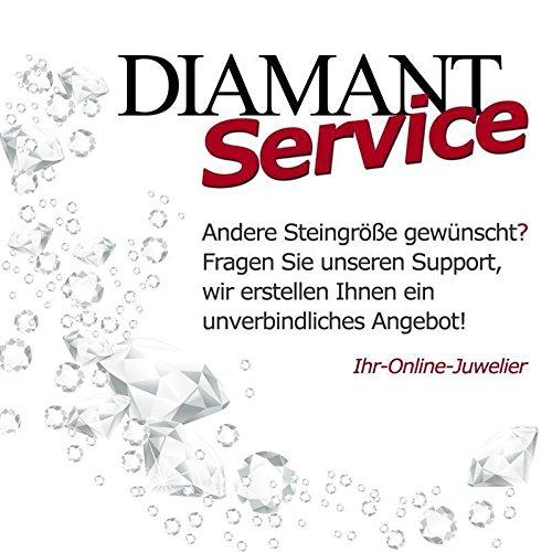 CORE by Schumann Design Trauringe/Eheringe aus 333 Gold ( 8 Karat ) Rotgold mit echten Diamanten GRATIS Testringservice & Gravur 19013250 - 4