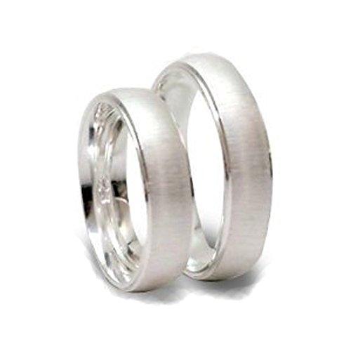 Silberne Trauringe aus 925er Sterlingsilber