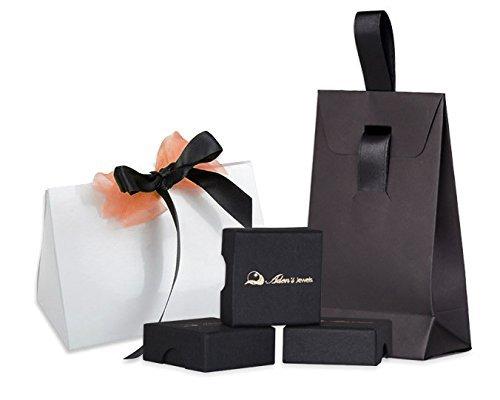 Geschenk Frau Verlobungsring-Einzelstück-Grösse: 17.8-Edelsteine-Ring-Turmalingruppe-Diamanten-Silber-Frau - 5
