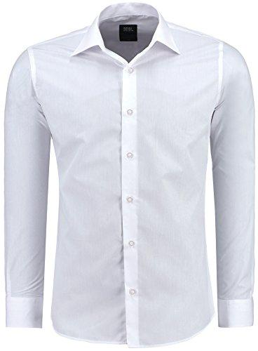 Herren-Hemd – Slim-Fit – Bügelleicht – Für Anzug