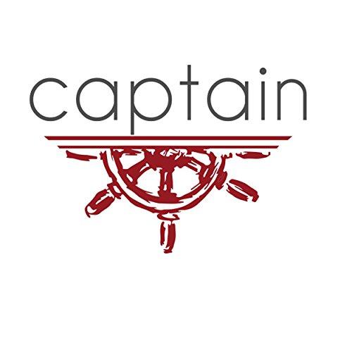 Captain Slim Fit Herren Hemden (in 24 Langarm-Hemd 100% Baumwolle (XL, Weiß) - 3