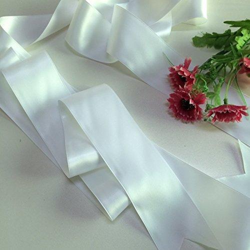 Hochzeit Gürtel Applique Braut-Gürtel, Schärpe, Gürtel Applikationen, Crystal Strass aus weißen Perlen RA027 -