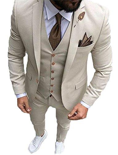 Herren Slim Fit Anzüge, Hochzeit