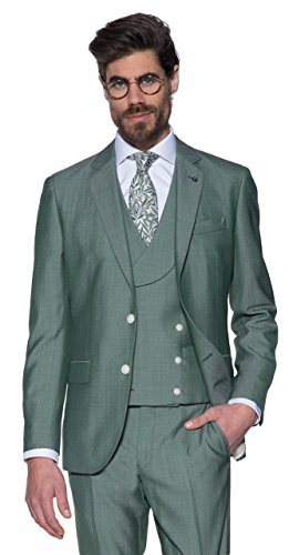 Dutch Dandies Herren Hochzeitsanzug, Mintgrün