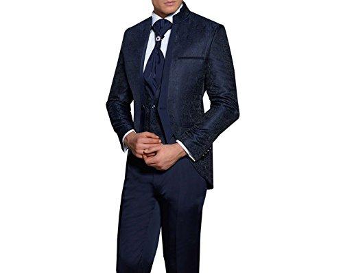 Hochzeit Anzug Gehrock-Cutaway Style 4-teilig