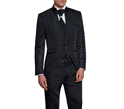 MUGA Hochzeit Anzug Gehrock-Cutaway Style 4-teilig - 2