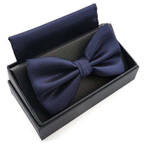 MASSI MORINO Fliege mit Einstecktuch inkl. Geschenkbox