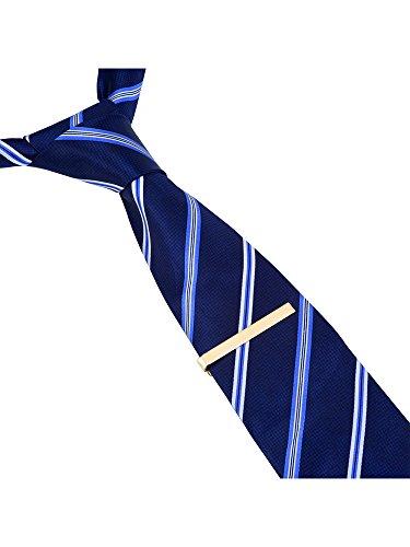 3 Stück Herren Krawatten Bar Clips Krawattennadel Krawattennadel Krawattenklammer Tie,Silber,Schwarz und Golden - 6