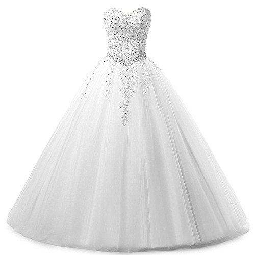 Abendkleid, Brautkleid, Weiß