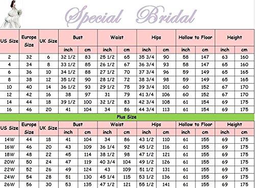 Special Bridal Satin Abendkleider Meerjungfrau Brautkleid V-Ausschnitt Brautkleid Long Party Dress - 5
