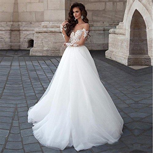 Hochzeitskleid Lang, Elegantes Kleid