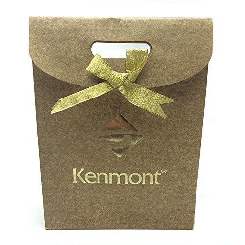 Kenmont Damen Bademäntel Morgenmantel Nachtwäsche kurz Sexy Kimono Negligee Unterwäsche Dessous Pyjamas Set (XL, Champagner) - 8