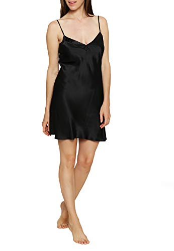 Triumph Pure Silk Negligee aus Seide, Black