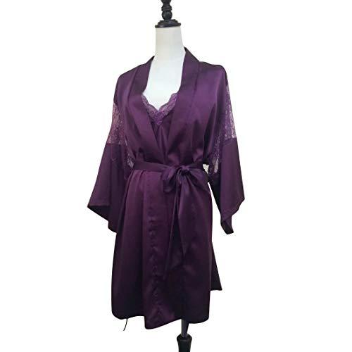 Zweiteiler Nachthemd (Purple)