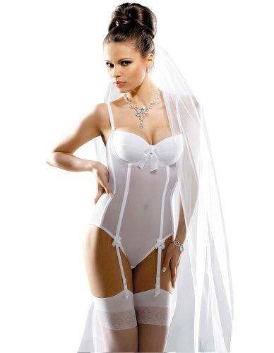 Gracya Naomi Hochzeit Body Weiss GRA005