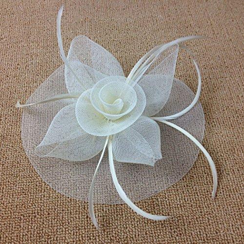 Fascigirl Fascinator Haar Clip Korsage Haarschmuck Hochzeit Brautschmuck Kopfschmuck Haarspangen -