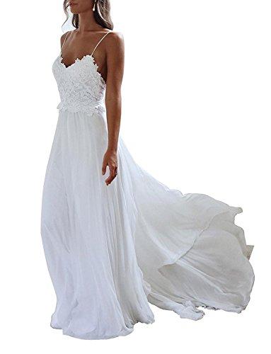 YASIOU Elegantes Brautkleid, Rückenfrei, Vintage