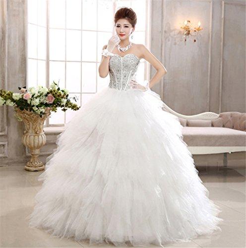 ELEGENCE-Z Hochzeitskleid, Prinzessin Brautkleid