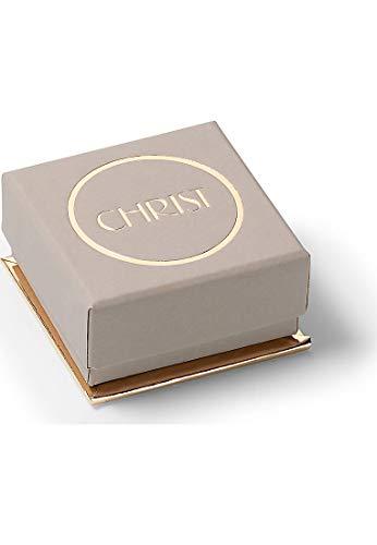 CHRIST Diamonds Damen-Ring 333er Weißgold 1 Brillanten ca. 0,06 Karat weißgold, 52 (16.6) - 4