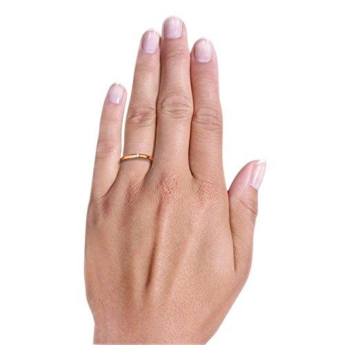 Goldmaid Damen-Ring Solitär Spannfassung - 3