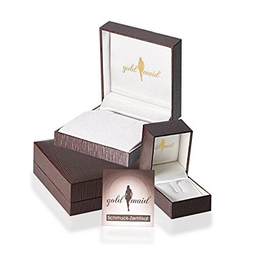 Goldmaid Damen-Ring Solitär Spannfassung - 4