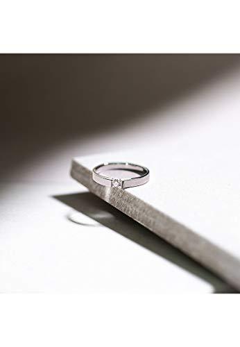 CHRIST Diamonds Damen-Ring 333er Weißgold 1 Brillanten ca. 0,06 Karat weißgold, 56 (17.8) - 4