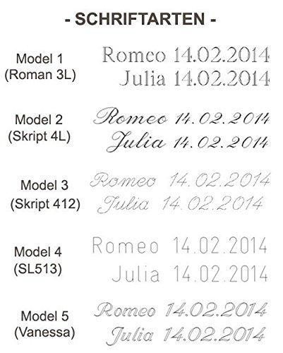 2 x 585 Trauringe Rosegold Rotgold Bicolor Weißgold Eheringe Massiv Paarpreis J140 - 2
