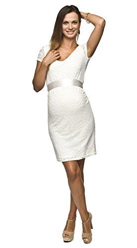 Elegantes und bequemes Umstandskleid, Brautkleid