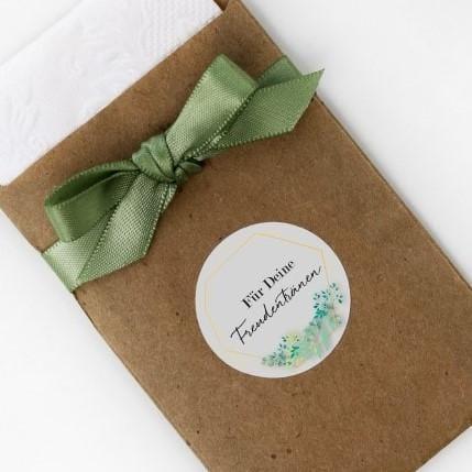 Aufkleber Eukalyptus Für Deine Freudentränen (48 Stück)