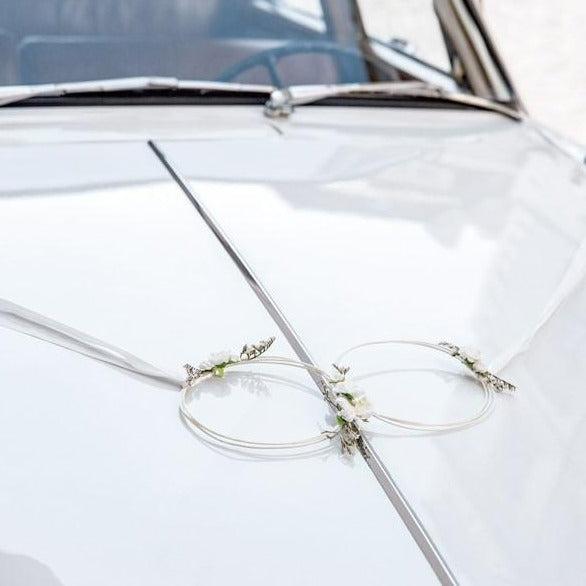 Auto Deko Set Rattan elegant