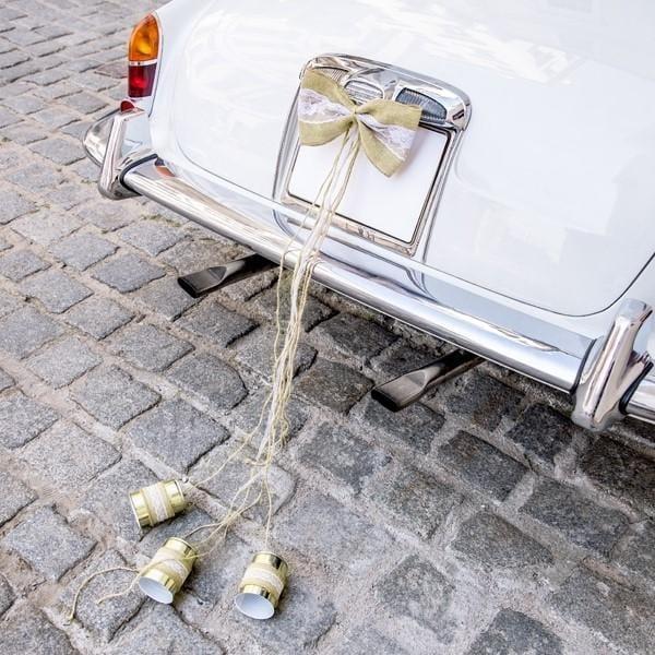 Auto Deko Set Vintage