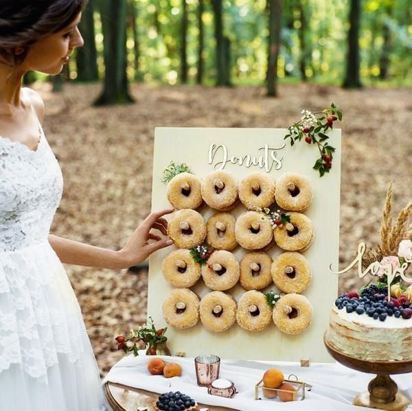 Donut Holz Aufsteller