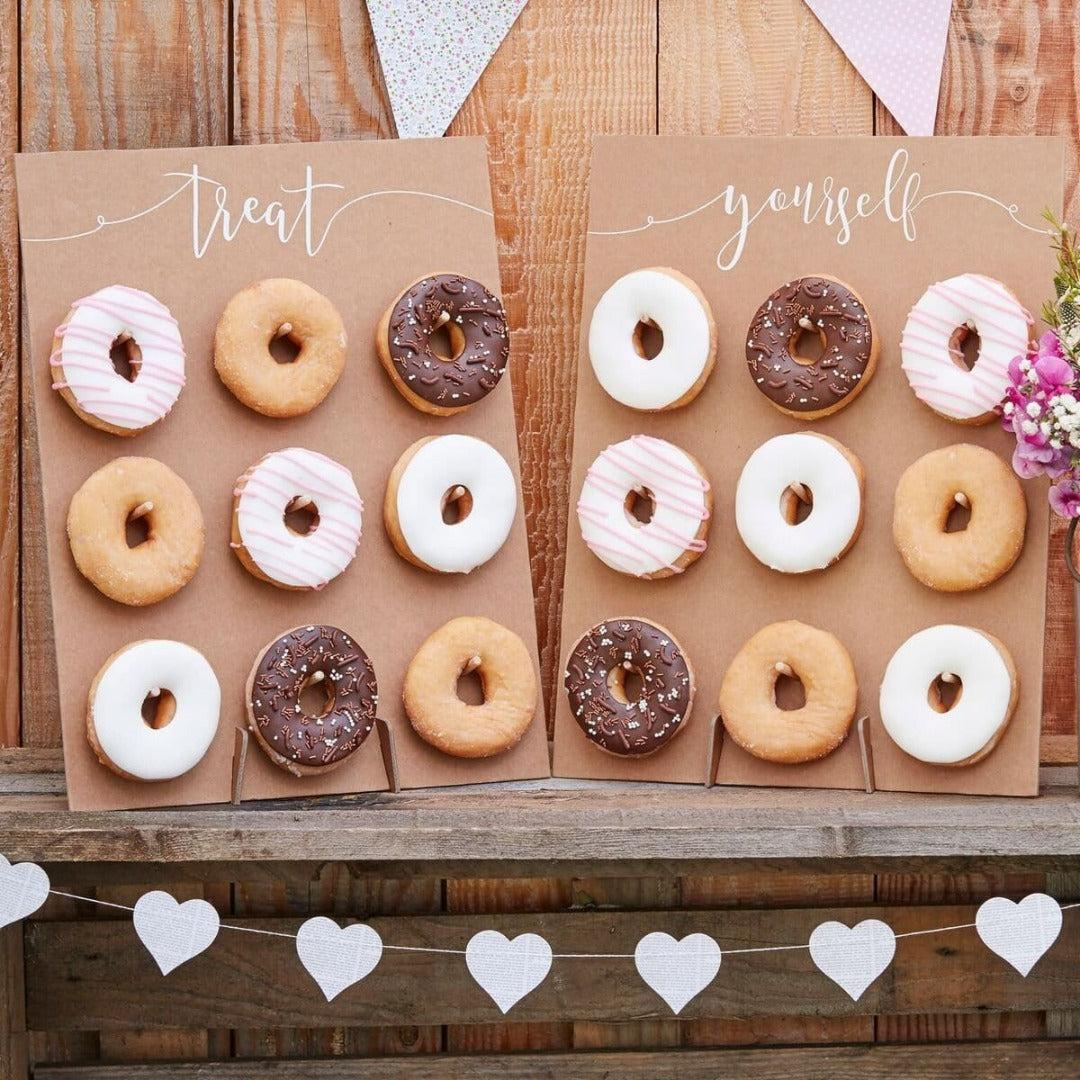 Donut Wand Aufsteller Vintage (2 Stück)