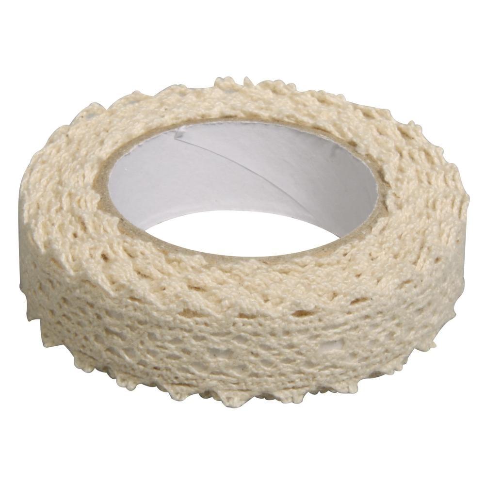 Fabric Tape Spitzenbordüre - creme