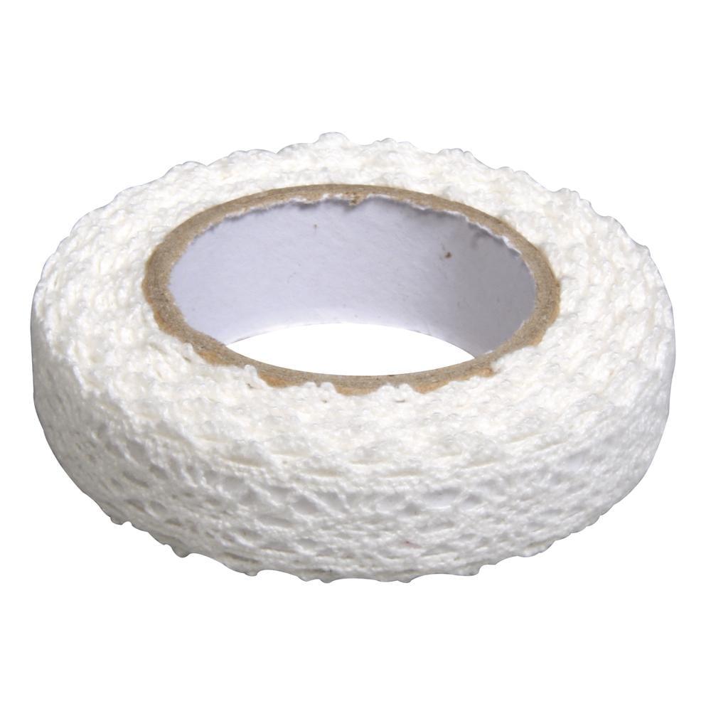 Fabric Tape Spitzenbordüre - cremeweiß