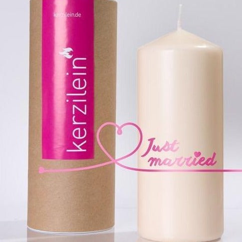 """Flamme """"Just Married"""" - pink"""