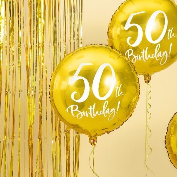 Folienballon 50. Geburtstag
