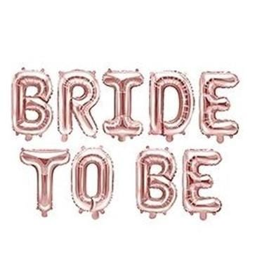 Folienballon Bride to be